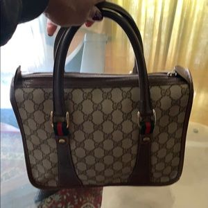 Authentic vintage Gucci Tote